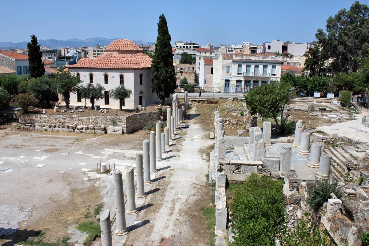 agora-romaine