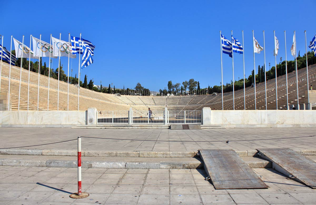 stade panathenees athenes