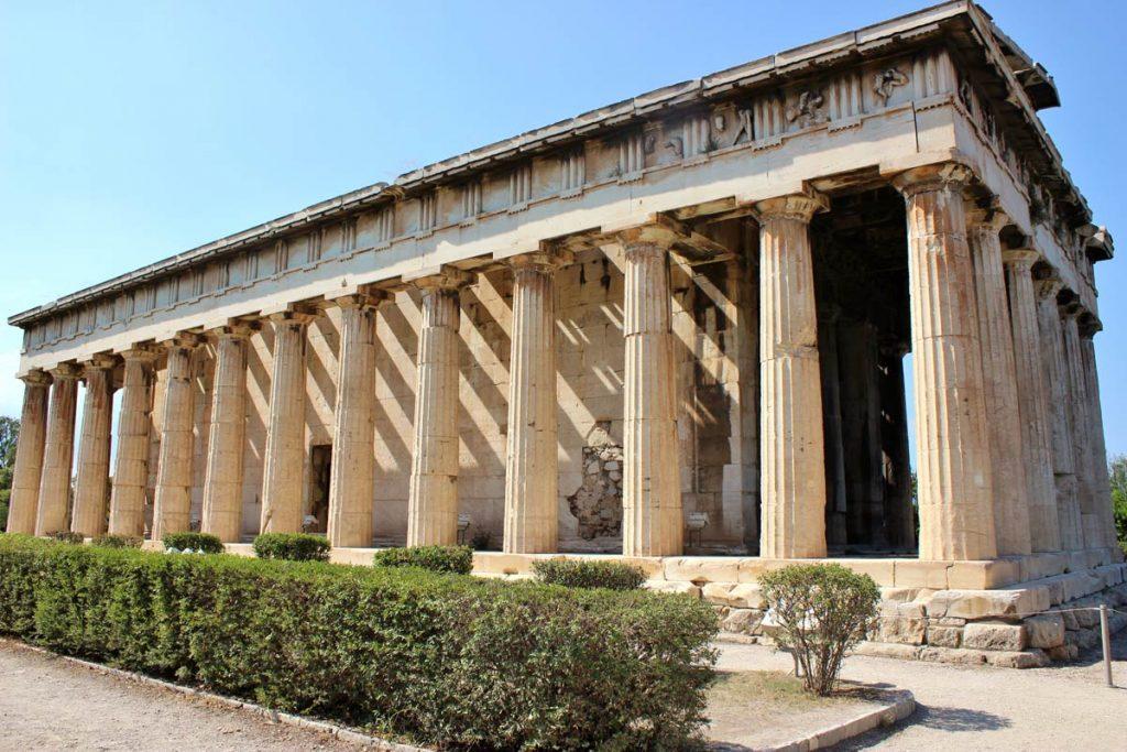 temple hephaistos 3 jours à athènes