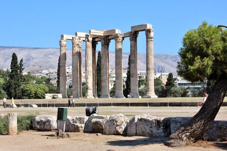 Temple zeus athenes