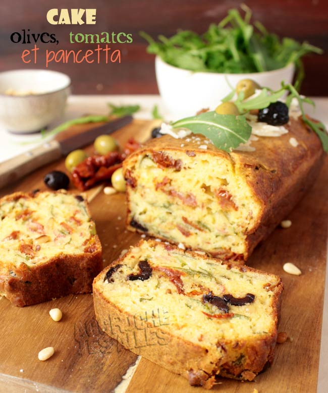 cake facile olives