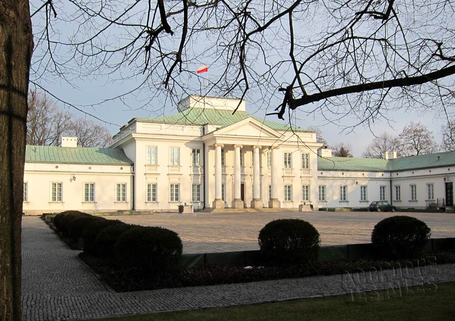maison président pologne varsovie