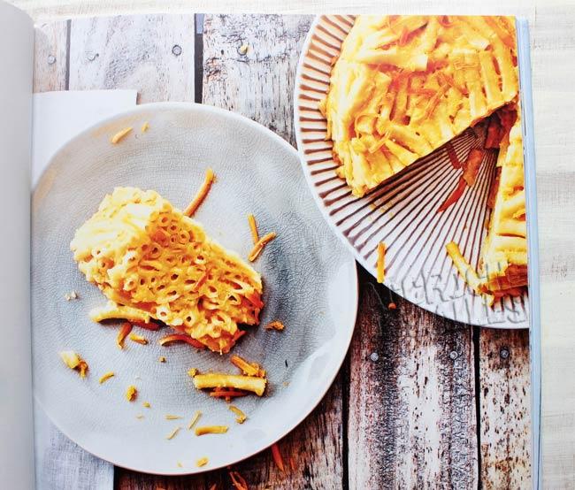 Pasta cake Mac & Cheese