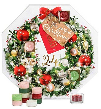 calendrier avent bougies