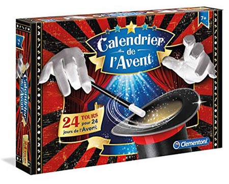 calendrier avent magie