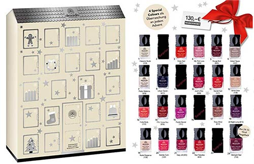 calendrier avent vernis à ongles