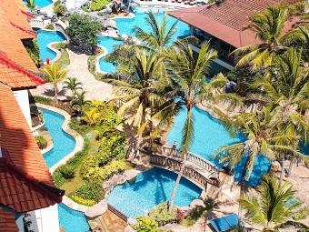 Un hôtel de luxe à Bali